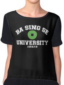 Ba Sing Se University  Chiffon Top