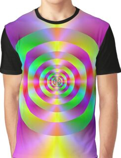 Psychedelic Rings Graphic T-Shirt
