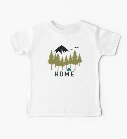 Mountain Home Baby Tee