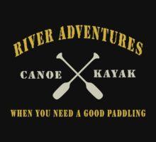 River Adventure Funny Baby Tee