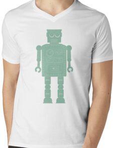 Retro vintage toy robot  Mens V-Neck T-Shirt