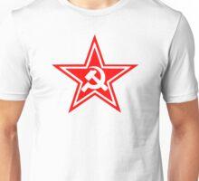 Hammer Sickle Star Flag Unisex T-Shirt