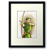 Robin Hood, the Legend II Framed Print