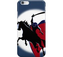 The Horseman in the Moon iPhone Case/Skin