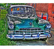 1948 cadillac front- full Photographic Print