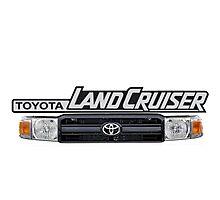 Toyota Landcruiser Grill Photographic Print