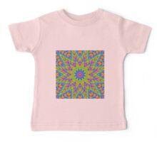 Magic Mandala Multicolor  Baby Tee