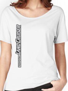 Landcruiser Logo Sideways Women's Relaxed Fit T-Shirt