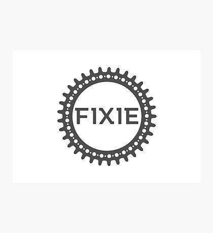 Fixie Photographic Print