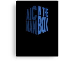 Man In The Box Canvas Print