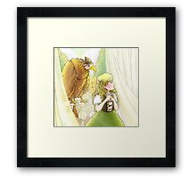 Tammy and Polly on the Balcony Framed Print