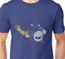 Pixel Silhouette: Meta Knight Unisex T-Shirt