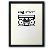 Beat Street t shirt Boombox t shirt Rap t shirt Music Dougie Fresh T shirt Swag T shirt Hypebeast t shirt Drugs t shirt Tupac t shirt Framed Print