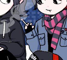 Frerard-Pixel Sticker