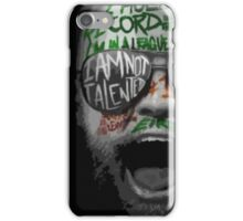 mc gregor iPhone Case/Skin