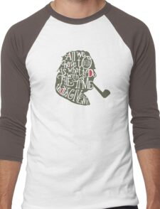 Literary Marvels- JRR Tolkien Men's Baseball ¾ T-Shirt