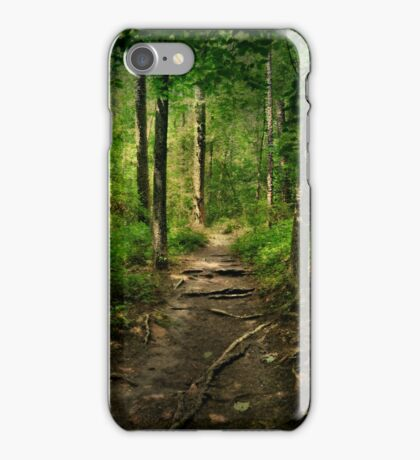 The Hidden Trails of the Old Forests iPhone Case/Skin
