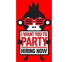 Bira 91 Indian Beer - I Want You To Party bira91 Photographic Print