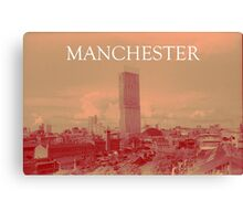 Manchester - The Smiths Inspired Artwork Canvas Print
