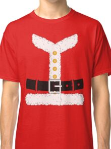 Santa Claus Red Christmas Costume Outfit Classic T-Shirt