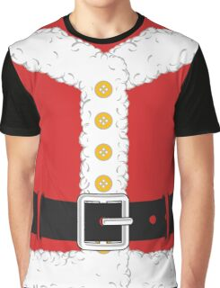 Santa Claus Red Christmas Costume Outfit Graphic T-Shirt