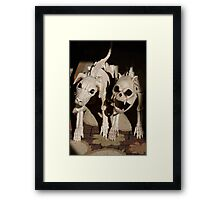 Dogs of Hell Framed Print