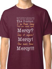 Dalek and  River Classic T-Shirt
