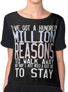 Million Reasons Chiffon Top