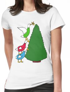 Tree Toppers Womens Fitted T-Shirt