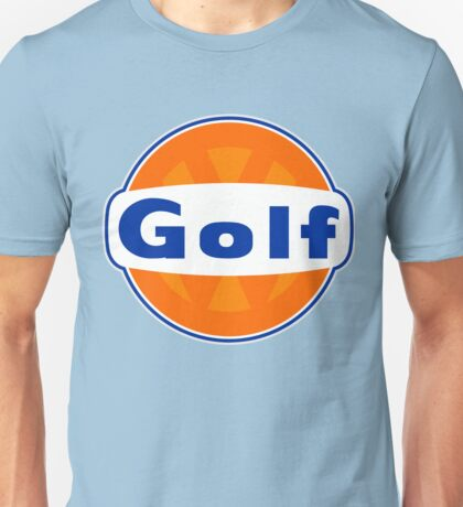 VW Golf Gulf Unisex T-Shirt