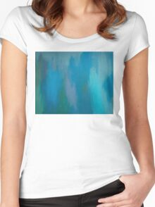 Pacific Trance Women's Fitted Scoop T-Shirt