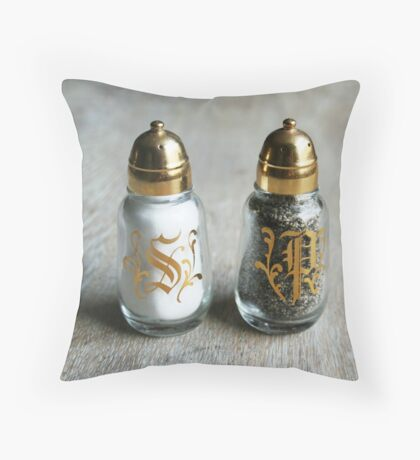 Salt n' Pepper Throw Pillow