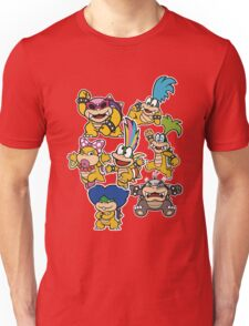 Koopalings - Paper Mario: Color Splash Unisex T-Shirt