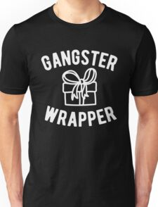 Gangster Wrapper Funny Christmas Unisex T-Shirt