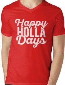 Happy Holla Days (Holidays) Mens V-Neck T-Shirt