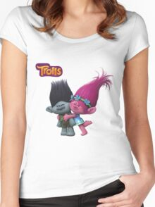 Trolls  Women's Fitted Scoop T-Shirt