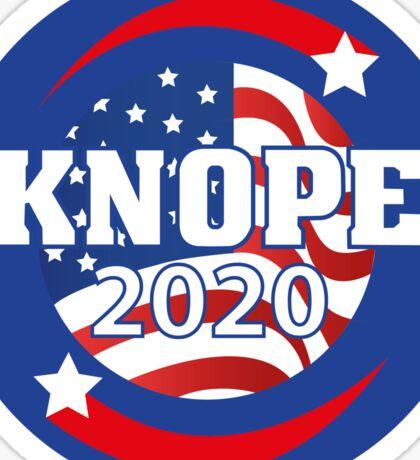 Leslie Knope for President Sticker
