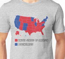 Electoral Map Breakdown Unisex T-Shirt
