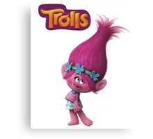 Trolls Poppy Canvas Print