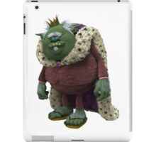 Trolls King Gristle Sr iPad Case/Skin