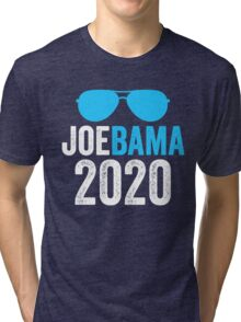 Joebama 2020 Joe Biden Barack Obama Tri-blend T-Shirt