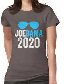 Joebama 2020 Joe Biden Barack Obama Womens Fitted T-Shirt