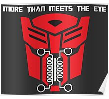 More Than Meets The Eye Poster