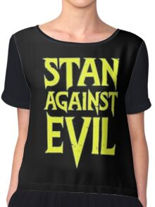 Stan Against Evil Logo Chiffon Top