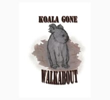 Koala Gone Walkabout Kids Tee