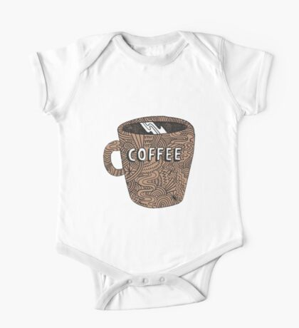 coffee  One Piece - Short Sleeve