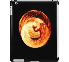 Fire Egg with Man Inside iPad Case/Skin