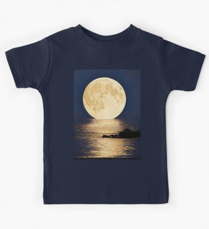 Supermoon 2016 Kids Tee