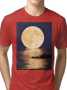 Supermoon 2016 Tri-blend T-Shirt