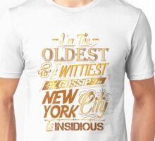 Satisfied Hamilton T-Shirt Manuel Renee Revolution Girls Unisex T-Shirt